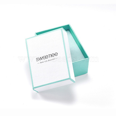 White Rectangle Paper Necklace Box