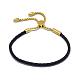Adjustable Leather Cord Bracelets(BJEW-I242-05C)-1