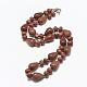 Synthetic Goldstone Beaded Necklaces(NJEW-S389-08)-1