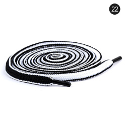Polyester Drawstring Cord, For Garment Accessories, White, 1300x6x2.5mm(AJEW-WH0043-11)