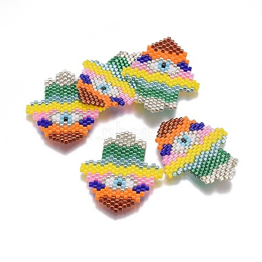 34mm Colorful Palm Glass