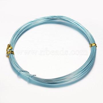 0.8mm Aqua Aluminum Wire