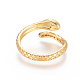 Brass Micro Pave Clear Cubic Zirconia Cuff Rings(RJEW-L097-02G)-2