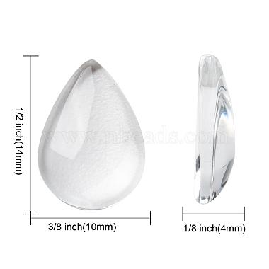 Transparent teardrop(X-GGLA-R024-14x10)-2