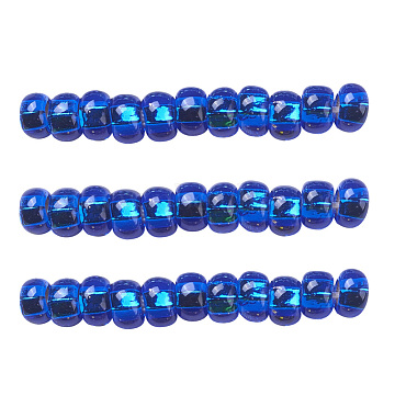 4mm Blue Glass Beads