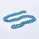Synthetic Turquoise Beaded Necklaces(NJEW-P202-60-A13)-1