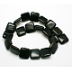 Natural Square Obsidian Beads Strands(G-L253-07)-2
