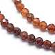 Natural Orange Garnet Beads Strands(G-G823-11-2mm)-3