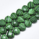 Synthetic Malachite Beads Strands(G-S357-E02-17)-1