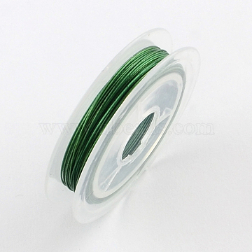 0.38mm MediumSeaGreen Steel Wire