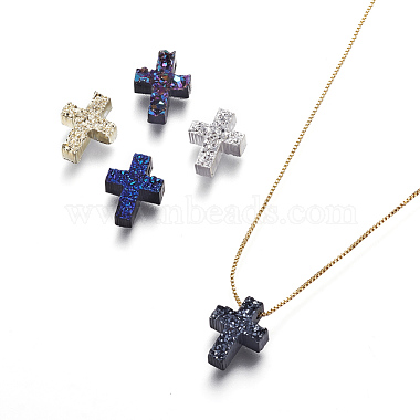 Mixed Color Brass Necklaces
