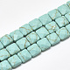 Synthetic Turquoise Beads Strands(G-S357-D01-16)-1