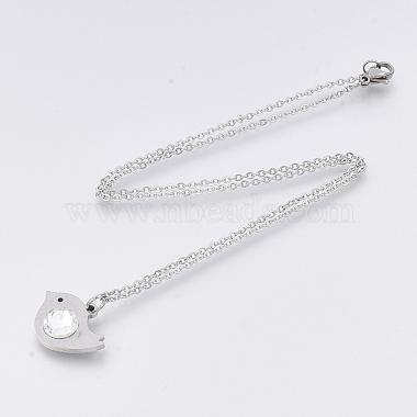201 Stainless Steel Pendant Necklaces(NJEW-T009-JN146-40-1)-2