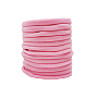 Nylon Elastic Baby Headbands for Girls, Hair Accessories, Pink, 11 inches(28cm)