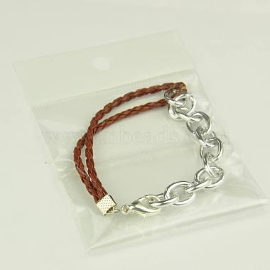 Fashion Braided Bracelets(X-BJEW-JB00848-09)-3
