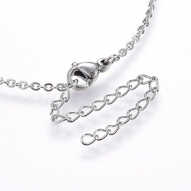 304 Stainless Steel Pendant Necklaces(NJEW-H491-04G)-4