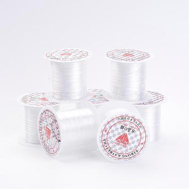 0.8mm White Elastic Fibre Thread & Cord