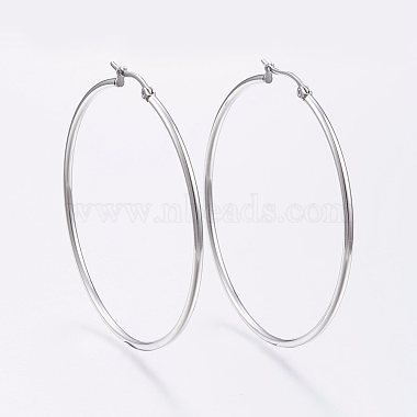 Ring Stainless Steel Earrings