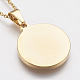 304 Stainless Steel Pendant Necklaces(STAS-I075-02G)-4