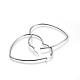 201 Stainless Steel Hoop Earrings(X-EJEW-A052-11B)-2