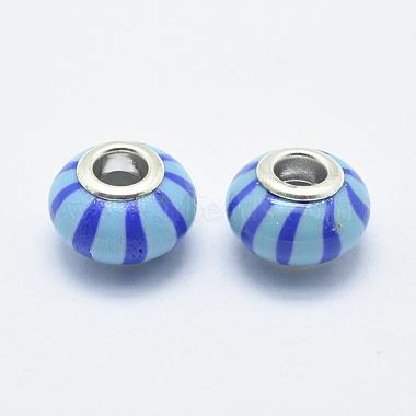 Handmade Polymer Clay European Beads(CLAY-K002-E04)-2