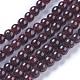 Natural Garnet Beads Strands(G-P433-28A)-3