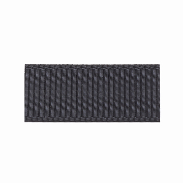 High Dense Polyester Grosgrain Ribbons, Black, 3/8 inch(9.5mm), about 100yards/roll(OCOR-S112-D-02)