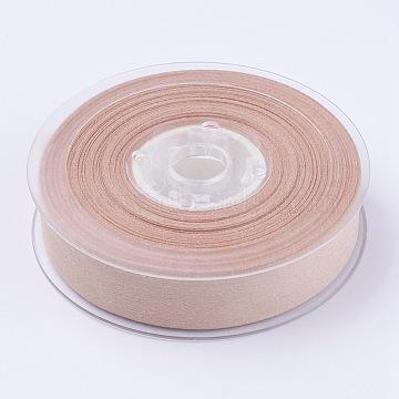 Polycotton(Polyester Cotton) Ribbon, PeachPuff, 3/4 inch(19mm)(SRIB-J003-019-835)