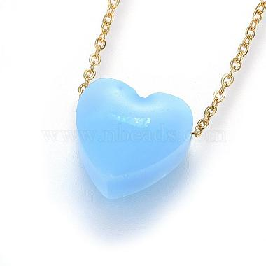 304 Stainless Steel Pendant Necklaces(NJEW-H491-02A-G)-2