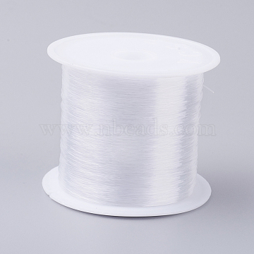 Fishing Thread Nylon Wire, Clear, 0.5mm, about 24.05 yards(22m)/roll(NWIR-G015-0.5mm-01)