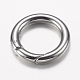 304 Stainless Steel Spring Gate Rings(STAS-O114-038P)-2