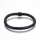 Leather Braided Cord Bracelets(BJEW-E352-04B-B)-1