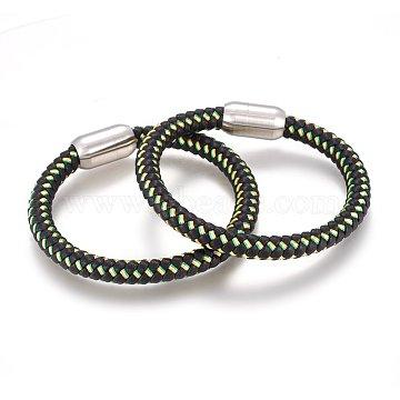 YellowGreen Leather Bracelets
