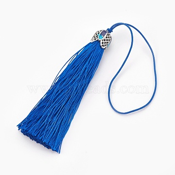 MediumBlue Others Polyester Decoration