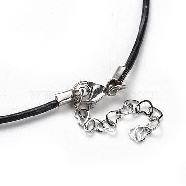 Raffia Woven Pendants Necklaces(NJEW-JN02360-02)-4