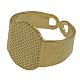 Adjustable Brass Pad Ring Bases(X-EC916-NFG)-1