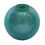 Cyan Round Acrylic Beads(X-PB9280-2)