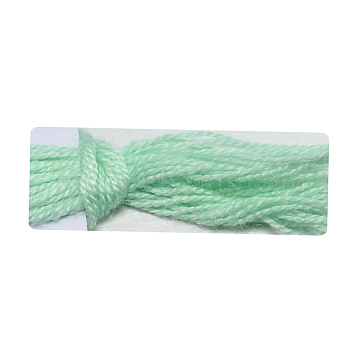 Soft Baby Yarns, with Bamboo Fibre and Silk, Aquamarine, 1mm; about 140m/roll, 50g/roll, 6rolls/box(YCOR-R024-ZM009A)