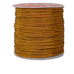 Nylon Thread Cord, For Jewelry Making, Peru, 0.8mm; about 100m/roll(NWIR-E029-0.8mm-14)