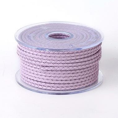 3mm Plum Cowhide Thread & Cord
