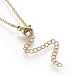 Brass Initial Pendant Necklaces(NJEW-I230-24G-Q)-2