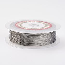 стальной проволоки, серебристый цвет, 30 датчик, 0.25 мм; 150 м / рулон(TWIR-E001-0.25mm)
