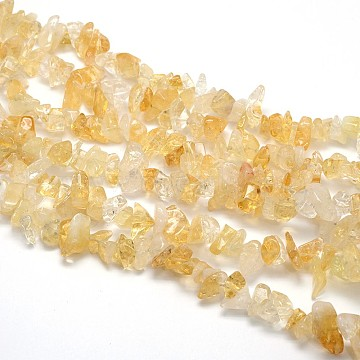 8mm Nuggets Citrine Beads