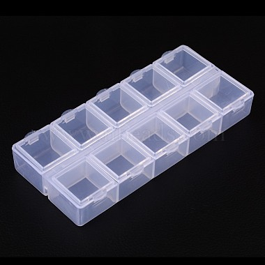 Cuboid Plastic Bead Containers(X-CON-N007-02)-2
