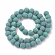 Synthetic Malachite Beads Strands(X-G-T106-199)-3