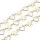 Handmade Brass Beaded Chains(CHC-S002-02G)-1