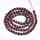 Natural Garnet Beads Strands(G-T108-56)-2