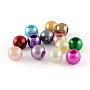 12mm Couleur Mixte Rondelle ABS Plastic Perles(X-MACR-R530-12mm-M)