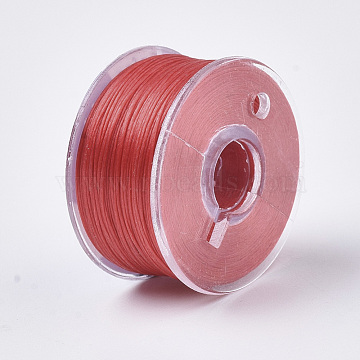 0.1mm Red Polyester Thread & Cord