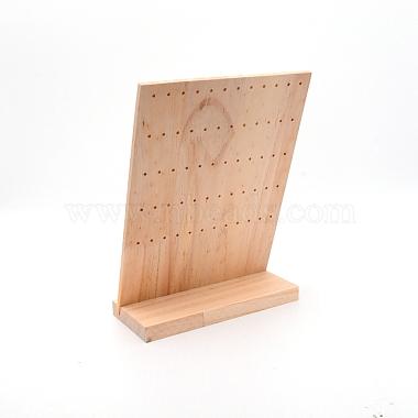présentoir de boucle d'oreille en bois de pin(EDIS-WH0008-08A)-3